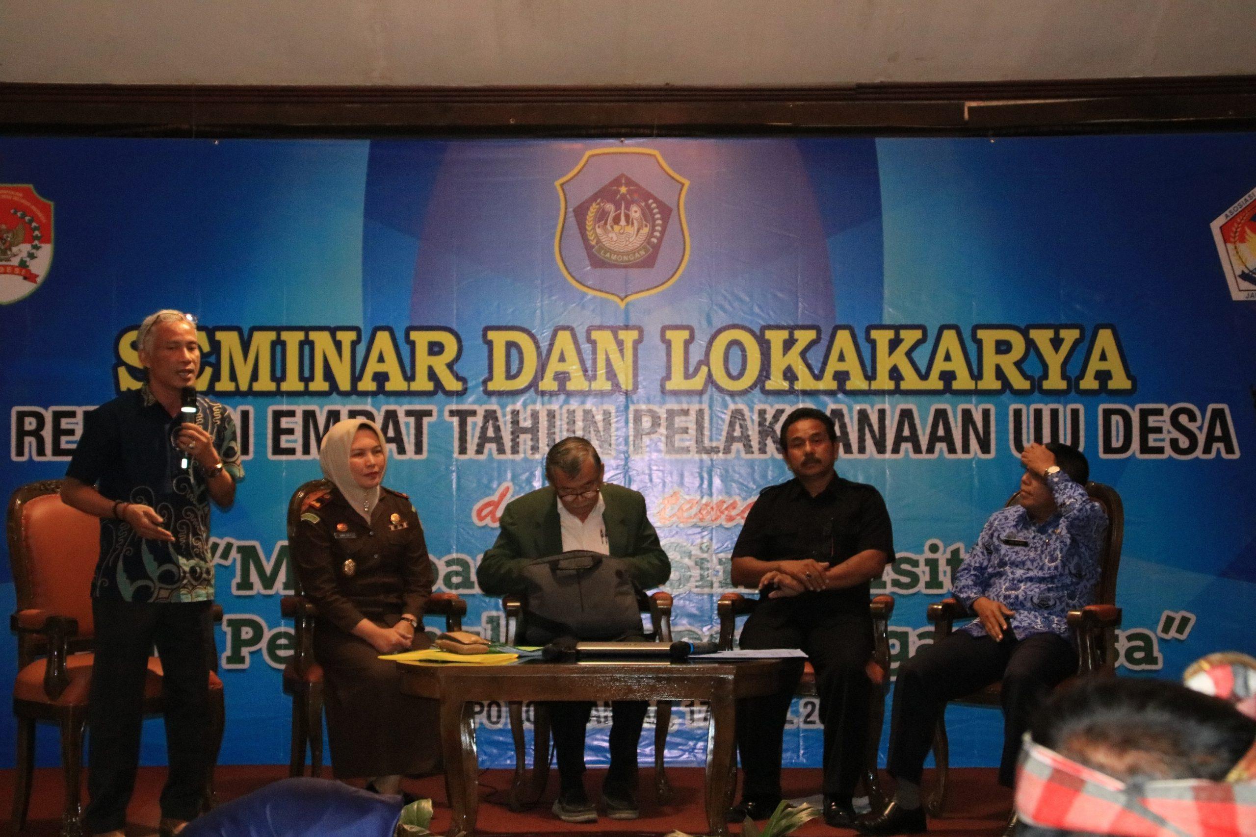 Seminar AKD Lamongan Dihadiri oleh Bibit Samad