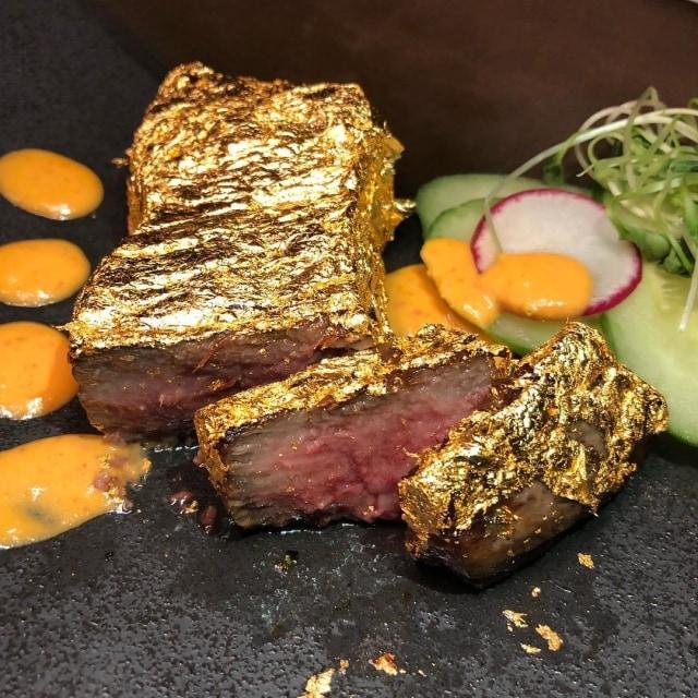 Restoran di New York Jual Steak Sapi Berlapis Emas Seharga Rp 5,7 Juta