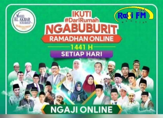Jatim Lakukan Ngabuburit Ramadhan Online, Warga Magetan Bisa Dengarkan di RASI FM