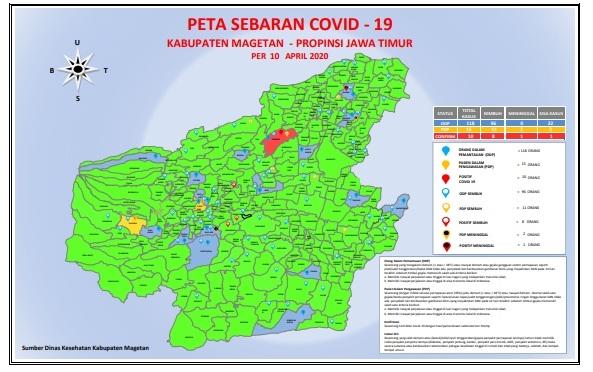 1 PDP asal Temboro Dinyatakan Positif Covid 19