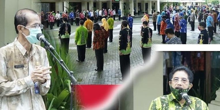 Akhiri Masa Tugas, Sekda Dr.Dr.Bambang Trianto, MM Pamitan
