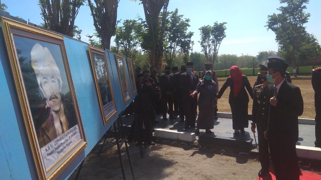 Ziarah ke Monumen Suco dalam rangka memperingati Hari Kesaktian Pancasila, Bupati Magetan Ingatan Sejarah Kelam Tidak Boleh Terulang.