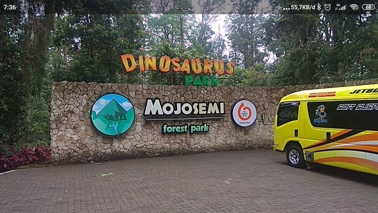 Sebagai Destinasi Wisata Alam Dinosaurus, Mojosemi Forest Park Akan Bertransformasi  Menjadi Mojosemi Dinosaurus Park.