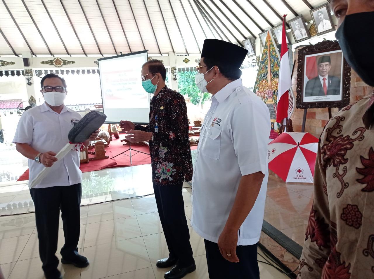 PMI Sosialisasi Undang Undang No 1 Tahun 2018 Tentang Kepalang Merahan Indonesia