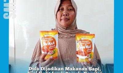 Dulu Dijadikan Makanan Sapi, Kini Kulit Jeruk Pamelo Bernilai Jutaan Rupiah.