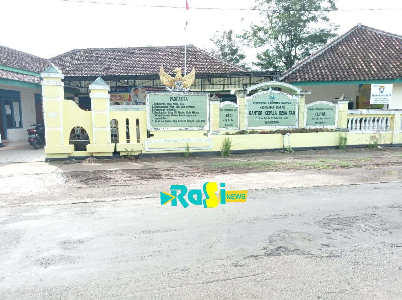 Kasun di Desa Taji Bangun Makam Punden Dari Sisa Uang Membangun Jalan Sawah
