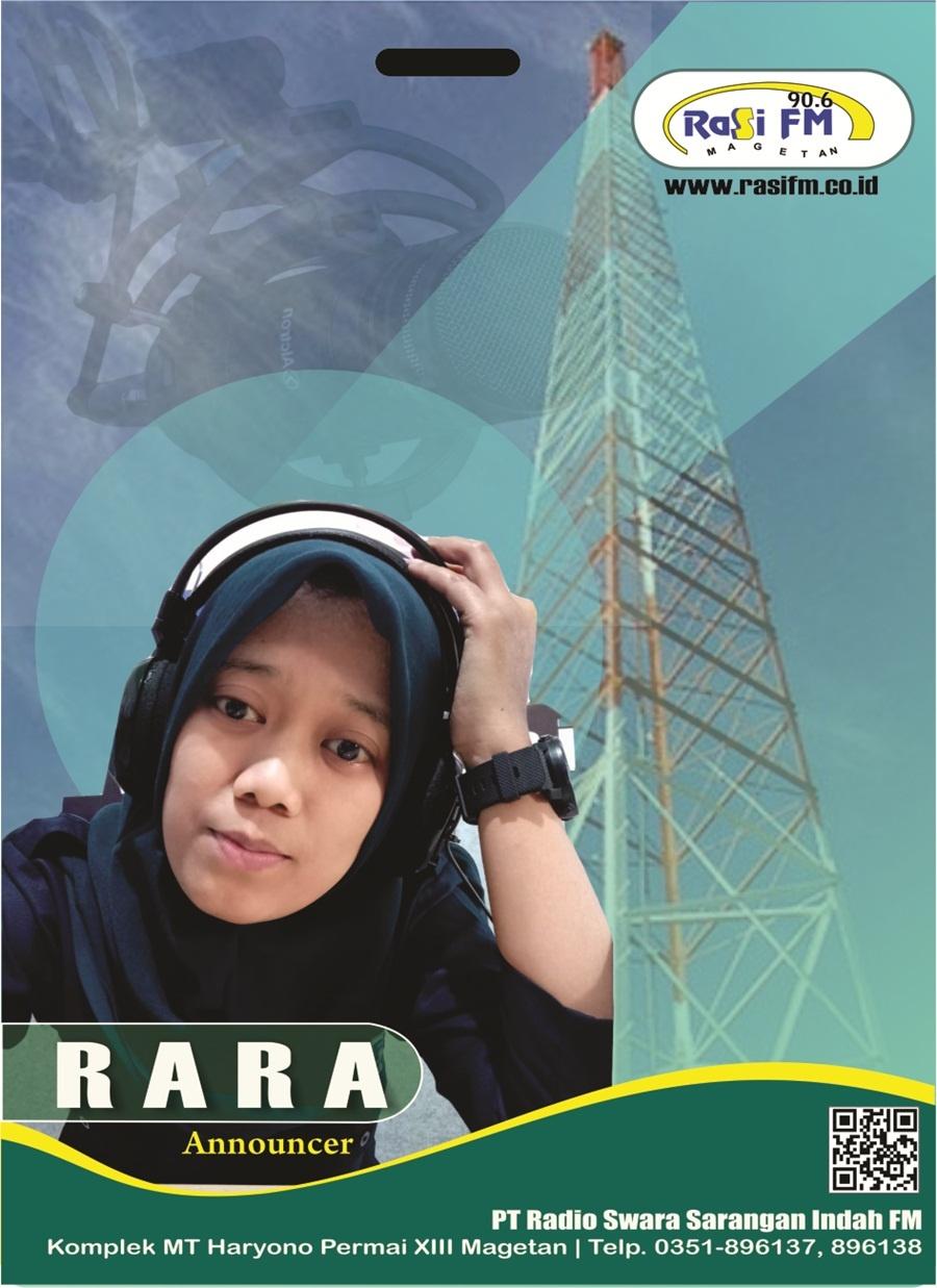 NENG RARA (announcer)
