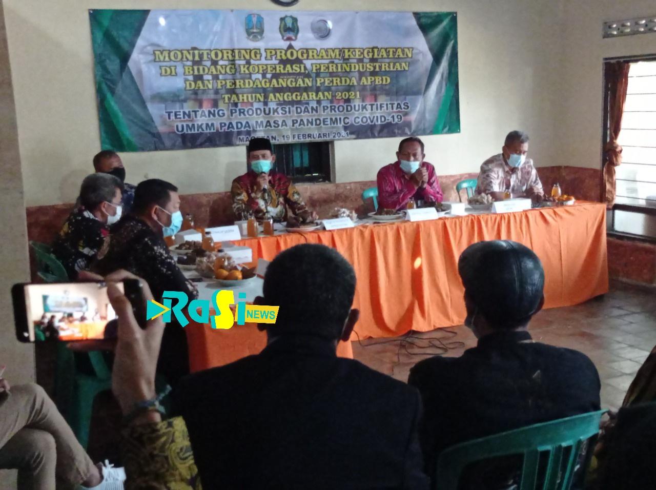 Dikunjungi Komisi B DPRD Jatim Pelaku UMKM di Magetan Butuh Pasar Untuk Menjual Produk Mereka di Masa Pandemi