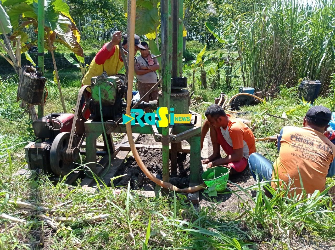 Petani Kesulitan Pengairan, Pemerintah desa Milangasri Bangun Sumur Bor