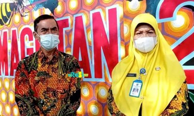 Vakum Setahun Karena Pandemi, SD Magetan 2 Kenalkan Batik Lebah Madu