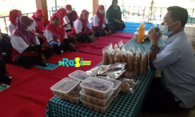 BLK Ponorogo Gelar Pelatihan di Desa Giripurno Magetan, Sulap Gedebog Pisang Jadi Kue Yang Laris Dipesan Warga.