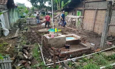 Peduli Warga Tak Mampu, Iped Bangunkan Rumah Bu Satinah Yang Berprofesi Sebagai Buruh Bungkus Tempe.