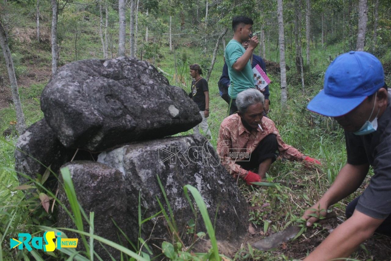 Arca di Reruntuhan Candi Kawasan Sepi Angin Hilang, Penggiat Budaya : Dari Arca Yang Hilang Bisa Diperkirakan Jaman Apa Candi Dibangun